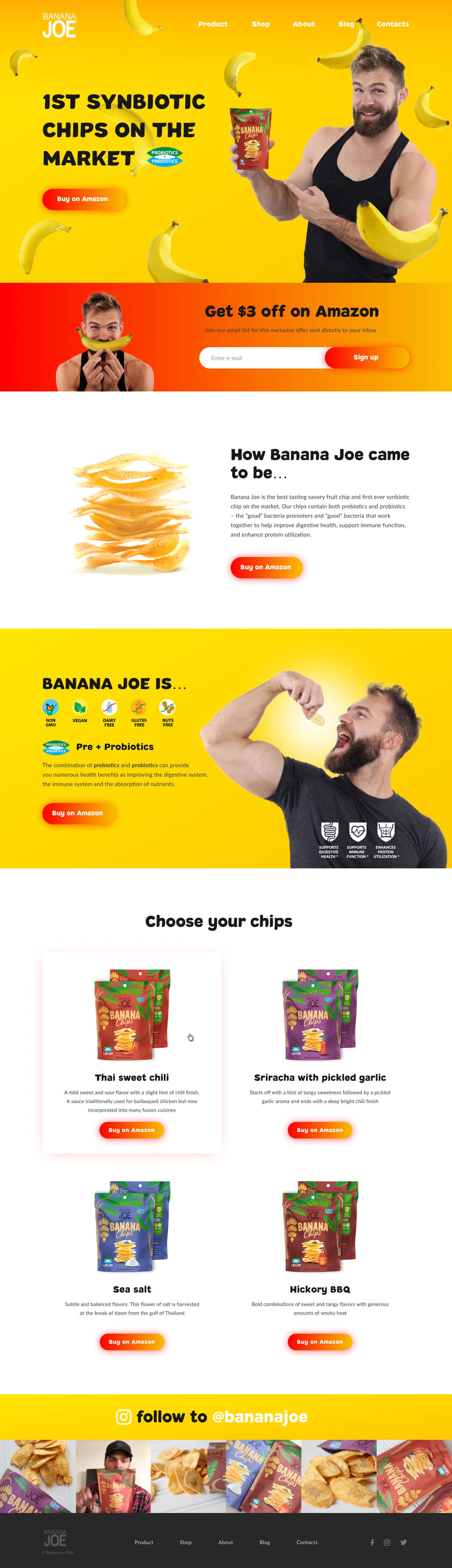 Banana Joe home